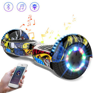 6.5inch Self Balancing Scooter Hoverboard Electric Scooter Bluetooth  for Kids