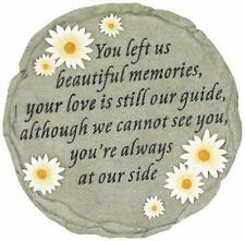Garden Memorial Rock Mother Plaque Memory Flower Mom Stone Cemetery Grave Statue