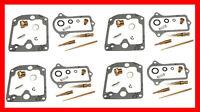 KR Carburetor Carb Rebuild Repair Kit x4 KAWASAKI Z KZ 1000 A Police KK-0051
