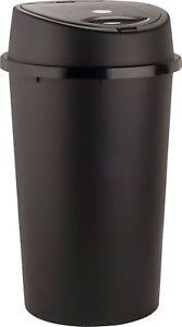 45L ALL BLACK TOUCH TOP BIN / DUSTBIN / RUBBISH BIN / KITCHEN / HOME / PLASTIC.