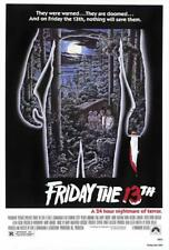 Friday the 13th Movie POSTER 27 x 40 Betsy Palmer, Adrienne King, A