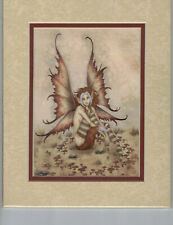 Wild Thing print Amy Brown Matted Mini-Print Rare!