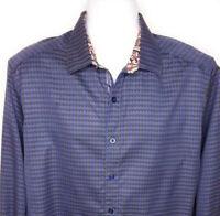 Robert Graham Limited Edition The Last Laugh Shirt Classic Fit Mens Size L