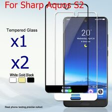 """9H 2.5D Full Cover Tempered Glass Screen Protector Film For Sharp Aquos S2 5.5"""""""