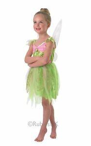 Child Disney Light Up Tinkerbell Fairy Girls Book Day Fancy Dress Kids Costume