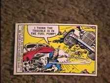 MARVEL SUPER HEROES #62  TRADING CARD 1966 DONRUSS