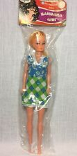 """Vintage 1960s Barbara Ann 11.5"""" Fashion Doll Barbie Clone 60s Sealed In Package"""