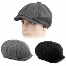 Herren Schiebermütze Flatcap Barett Baskenmütze Golfmutze Vintage Kappe Hut