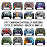 Nintendo Switch Pro Controller Decal Sticker Vinyl Waterproof - Easy to Apply