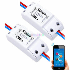 2 Pcs -KM18 Sonoff Smart Home Wireless Switch Module For Apple Android Control