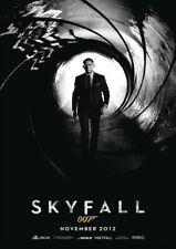 SKYFALL 2012 Sam Mendes, James Bond – Movie Cinema Poster Art Print