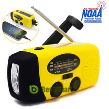 Solar Crank Noaa Weather Radio for Emergency with Am/Fm/Noaa , Torch Power Bank