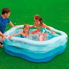 More details for  intex paddling pool summer colours 6ft - inflatable floor & see through sides