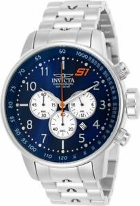 Invicta S1 Rally 23080 Men's Round Navy Blue Chronograph Date Analog Watch