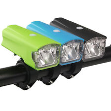 Bicycle Headlight USB Rechargeable LED Front Lamp Cycling Mountain Road Bike