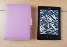 Amazon Kindle (4th Generation) 2GB, Wi-Fi, 6in - Black With Case Bundle