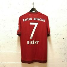 [A022] FC Bayern München Ribéry Nr. 7 Matchworn Trikot Bundesliga 2015/16 Gr. 8