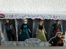 Doll set Frozen Coronation La Reine Des Neiges Disney Anna Elsa Kristoff Hans