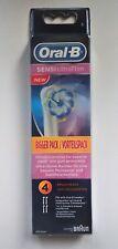 4 x BRAUN Oral B Sensi UltraThin - Revolutionäre Aufsteckbürste - NEUHEIT - NEU