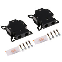 2x Graphic Card GPU Waterblock Water Block Copper Base for PC Water Cooling
