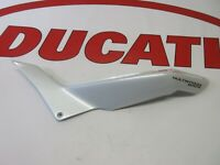 Ducati lh left hand frame seat cover Multistrada 1200S 48211631AW White