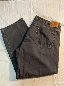 Levi's 569 Men's Gray 44x32 Loose Fit Jeans