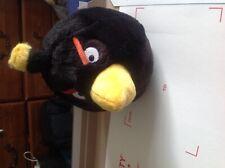 2011 Angry Birds stuffed animal Bomb Black Bird