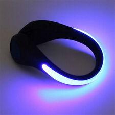 LED Luminous Sports Shoe Clip Light Night Safety Bike Cycling Running Walking