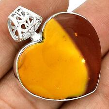 Heart - Mookaite 925 Silver Pendant Jewelry PP47742
