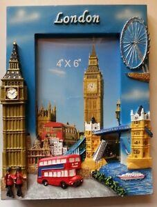 London Photo Frame Big Ben Tower London Eye Tower Bridge Design Souvenir Gift