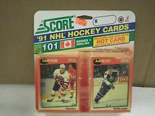 OLDER HOCKEY CARDS 1991- CANADIAN ENGLISH SERIES 1- GARY NYLUND- NEW- L136