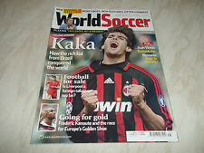 Football Magazine World Soccer May 2007 Kaka Lisbon Poland Petr Cech David Silva