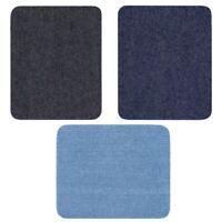 12PCS Denim Iron On Repair Kit Assorted For Mending And Embellishing Blue Jean
