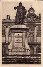 (y5a) Postcard: Nancy, Statue d Stanislas Fronton