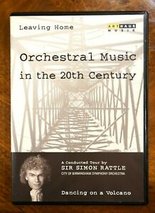 Sir Simon Rattle - Leaving Home, Dancing On A Volcano, Vol.1  - DVD, As New