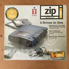 NEW SEALED Iomega Zip 100 Parallel Port Drive Blue for PC's Notebooks Laptops