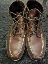 Men's Orvis Gokey Suede Out Chukka Boots Sz 11.5D GUC