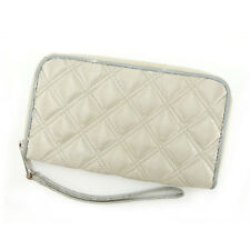 Marc By Marc Jacobs Wallet Purse Beige Silver Woman Authentic Used E884