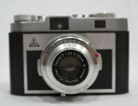 Vintage Tower 51 Camera 50mm f2.8 Steinheil Munchen Lens With Case TF