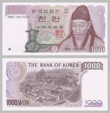 Südkorea / South Korea 1000 Won 1983 p47 unz.