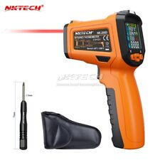 NKTECH Digital Laser Infrared IR Gun NK-200D 5-IN-1 LCD Humidity Dew Thermometer