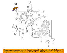 Honda Genuine 81137-SHJ-A41 Seat Cushion Pad