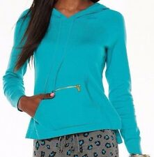 Juicy Couture Womens/Juniors Green Hoodie / Hooded Sweater NWT Size XL
