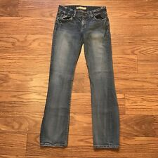 The Buckle BKE CULTURE Low Rise Boot Cut Stretch Jeans Size 28x31.5