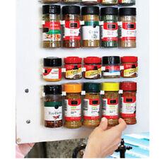 High Sales Spice Rack Wall Storage Plastic Kitchen Accessories Hooks Door Pop