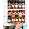 High Sales Spice Rack Wall Storage Plastic Kitchen Accessories Hooks Door Pop