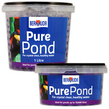 Bermuda Pure Pond Balls - Crystal Clear Water Clarity Bacteria Nitrite Fish