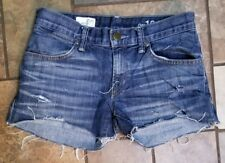 Woman's Gap Distressed Cut Off Jean Shorts Size 0, Nice & distressed!