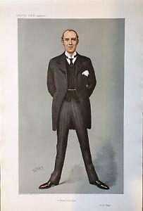 Original Vanity Fair 1907  'A Master Of The Knife' - Doctors & Scientists
