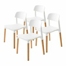 La Bella Replica Belloch Stackable Dining Chair, Set of 4 - White